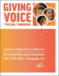 ACNM program cover